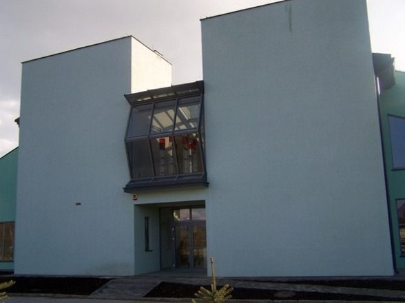 Szklany Dom przed otwarciem. Październik 2010r.