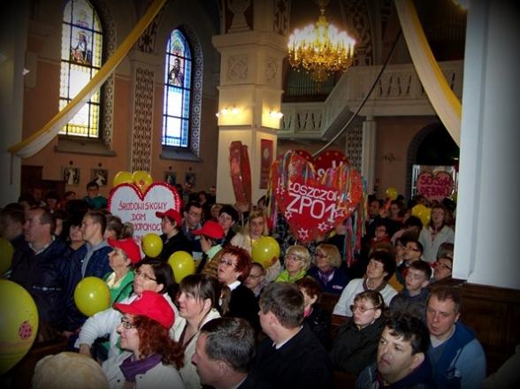 Kościół w Masłowie. Spotkanie z osobami niepełnosprawnymi, 2010r.