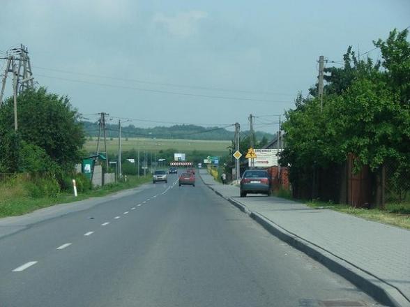 ul. Jana Pawła II, Masłów Pierwszy.Czerwiec 2009r.