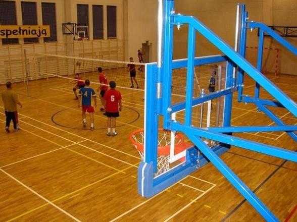 Hala sportowa w Mąchocicach Scholasterii