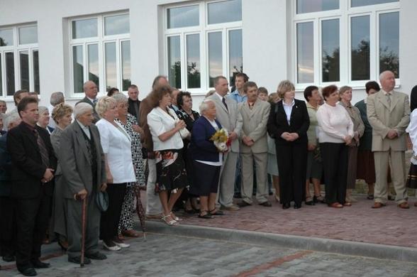 Dom Ludowy w Woli Kopcowej - otwarcie, 2006r.