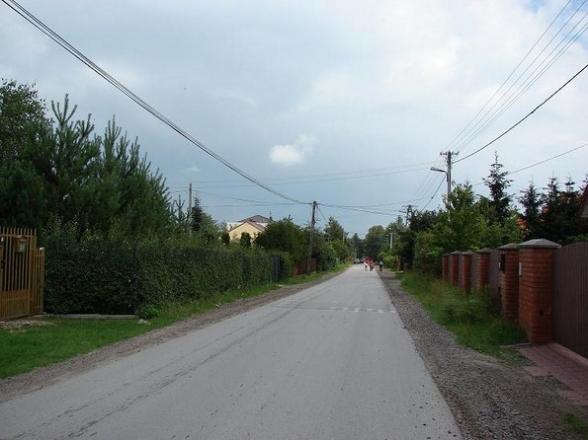 ul. Letniskowa, Wola Kopcowa.Czerwiec 2009r.
