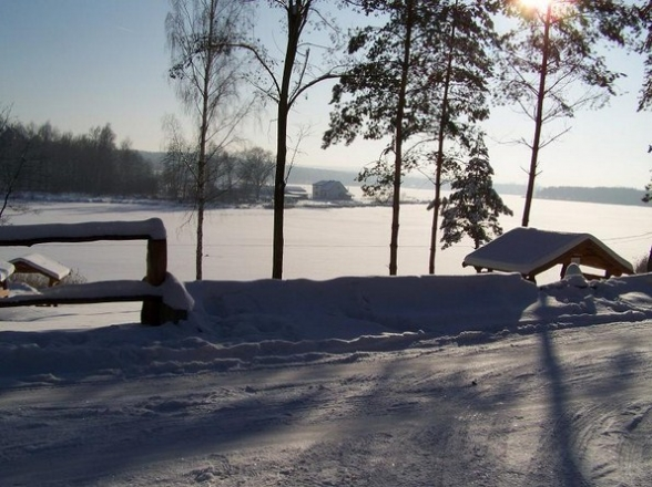 W zimowych barwach