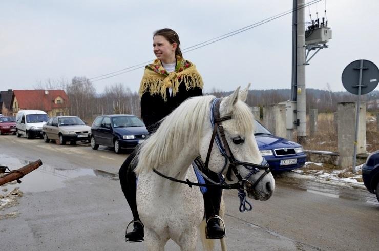 Na koniu...  Ciekoty, 30.03.2013r.