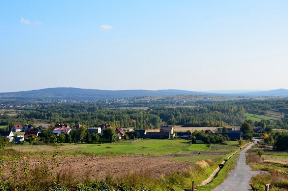 Widok z Domaniówki