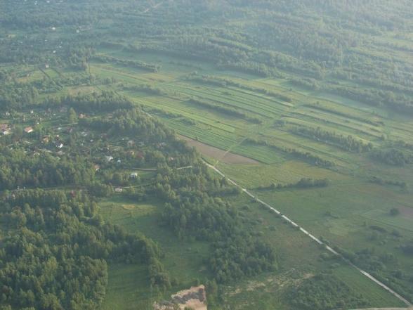 Gmina Masłów - zdjęcia z lotu ptaka (2008r.)