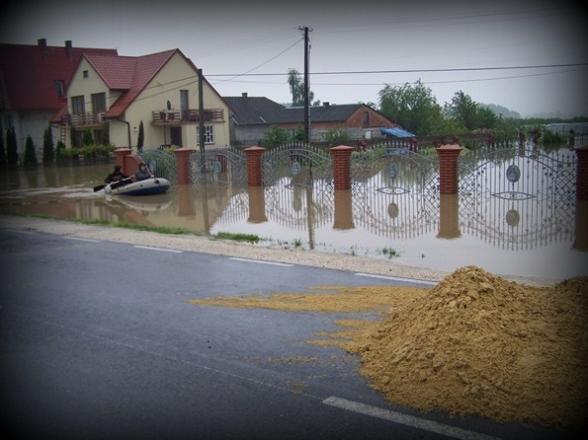 Powódź 2010r. Powiat staszowski