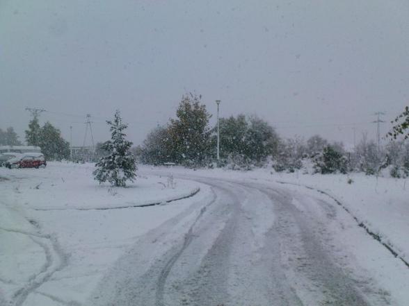 Atak zimy - 14.10.2009r.