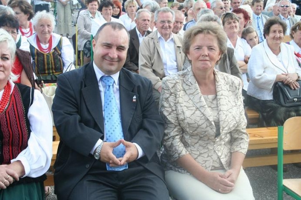 Dożynki gminne - Masłów 2009