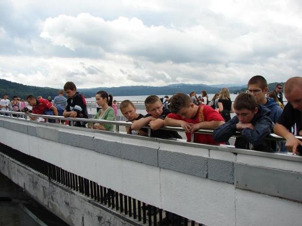 Dzieci i młodzież z gm. Masłów w Bieszczadach - 5-7.07.2009r.