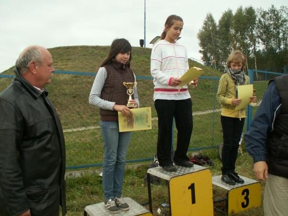 Zawody kolarskie MTB o Puchar Wójta Masłowa - 6.10.2009r.