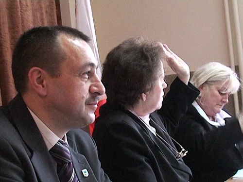 Pierwsza sesja nowej Rady Gminy - grudzień 2010r.