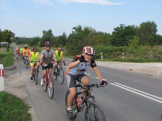 Rajd rowerowy Żeromszczyzna 2010 - 14.08.2010r.