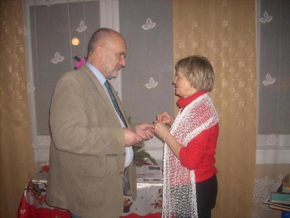 Spotkanie opłatkowe w Wiśniówce - 2.01.2010r.