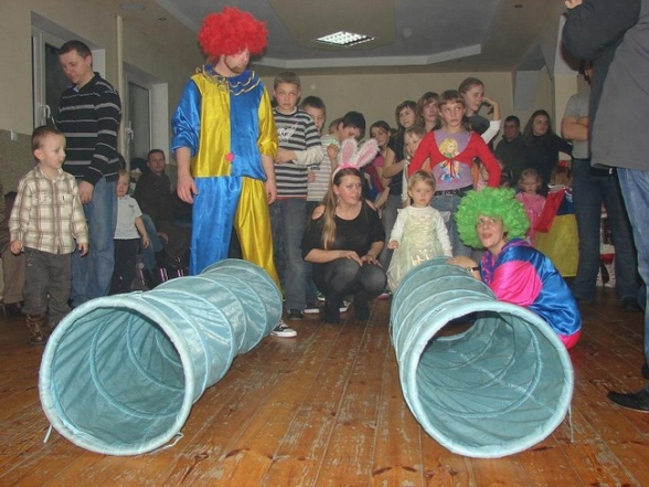 Zabawa karnawałowa w Masłowie - 7.02.2010r.