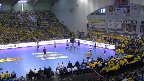 Gimnazjaliści z Masłowa na meczu VIVE - 21.05.2011r.