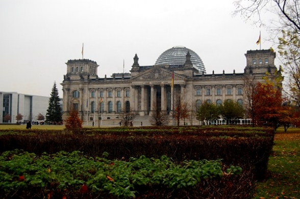 Gimnazjaliści z Mąchocic Kapitulnych w Niemczech - listopad 2011r.