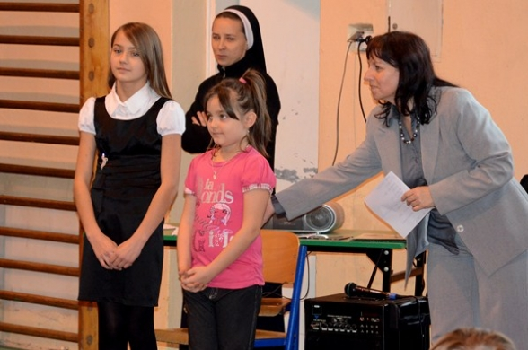 Jasełka w szkole w Masłowie - 22.12.2011r.