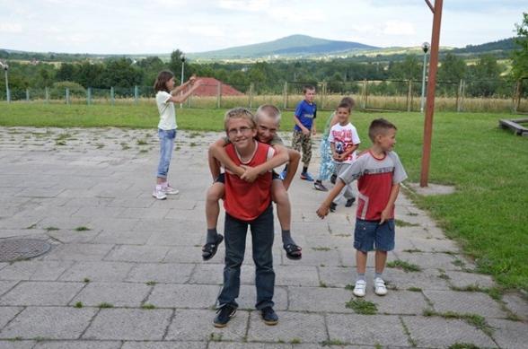 Kolonie z Biłgoraja i Puław w Mąchocicach Scholasterii - 14.07.2011r.