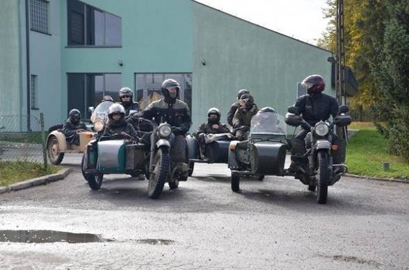 Rajd Motocykli Klasycznych i Zabytkowych - 15.10.2011r.