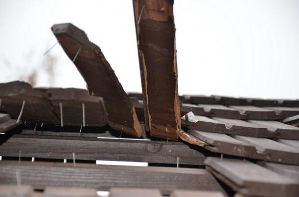 Teren koło Diabelskiego Kamienia zdewastowany - 2.11.2011r.