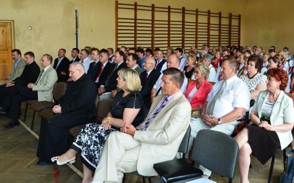 Uroczysta sesja w 20. rocznice wizyty Papieża w Masłowie - 15.06.2011r.