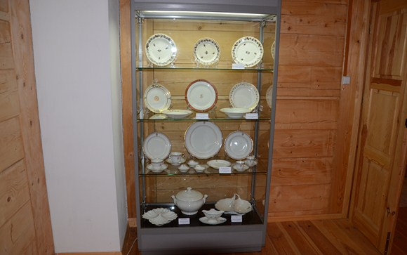 Wystawa ceramiki w Dworku Żeromskiego