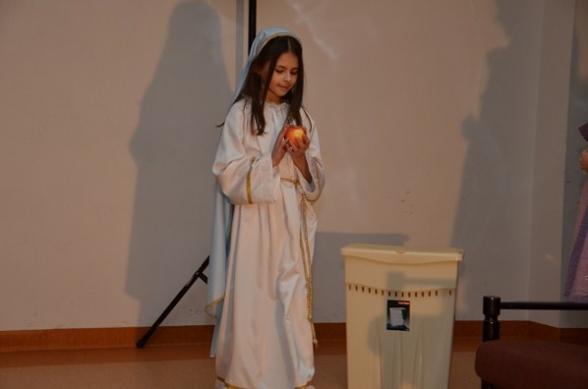 Jasełka i wieczór kolęd w Woli Kopcowej - 6.01.2012r.