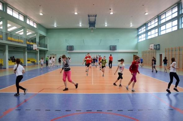 Nowa hala sportowa w Masłowie - 15.05.2012r.