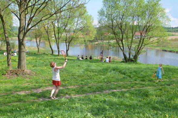 Piknik u Żeromskich w Ciekotach - 3.05.2012r.