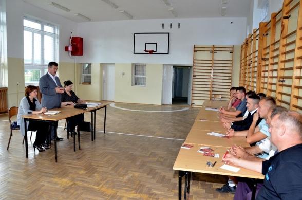 Spotkania informacyjne w ramach projektu strażackiego - lipiec 2012r.