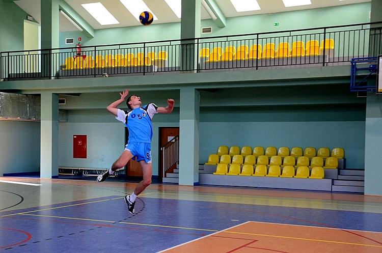 Turniej siatkarski na hali w Masłowie - 14.10.2012r.
