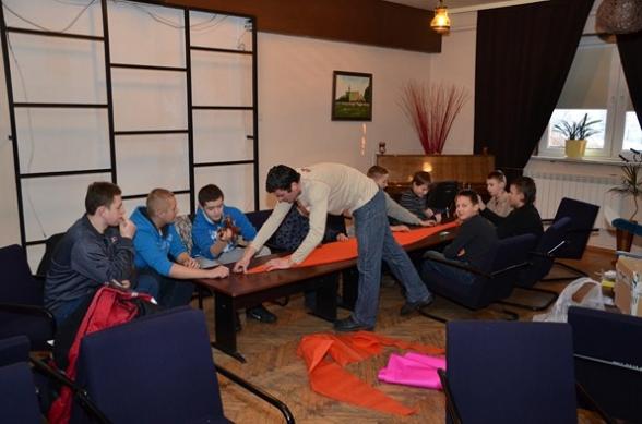 Warsztaty modelarskie w ośrodku kultury - 11.02.2012r.