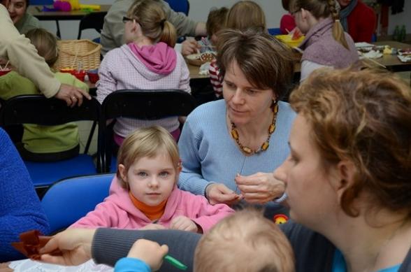 Warsztaty wielkanocne w Szklanym Domu - 31.03.2012r.