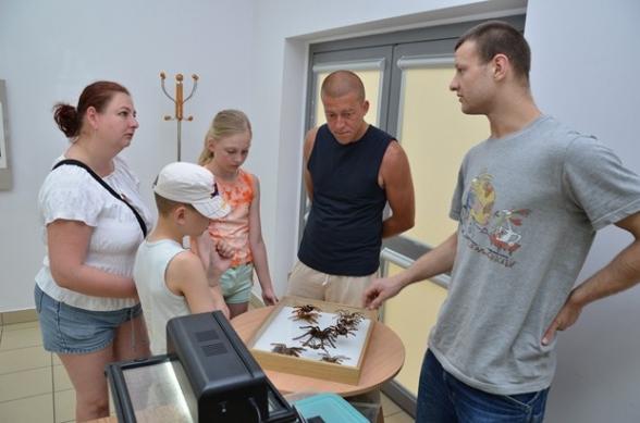Wystawa owadów i pająków w Szklanym Domu - 3.05.2012r.