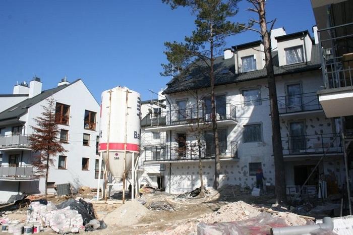 Budowa nowego osiedla w Wiśniówce - 19.05.2013r.