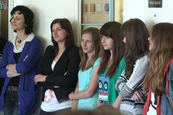 Dzień europejski w Zespole Szkół w Mąchocicach Kapitulnych - 3.06.2013r.