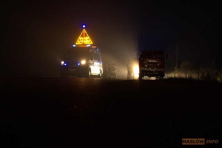 Groźny wypadek w Ciekotach - 29.09.2013r.