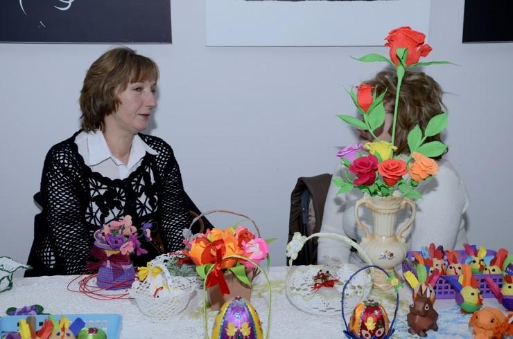 Kiermasz wielkanocny w Szklanym Domu - 24.03.2013r.