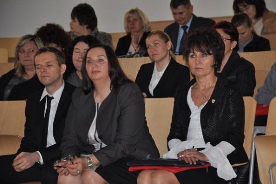 Konferencja 'Nie - przemocy w rodzinie' - 16.12.2013r. (fot. Starostwo Powiatowe)