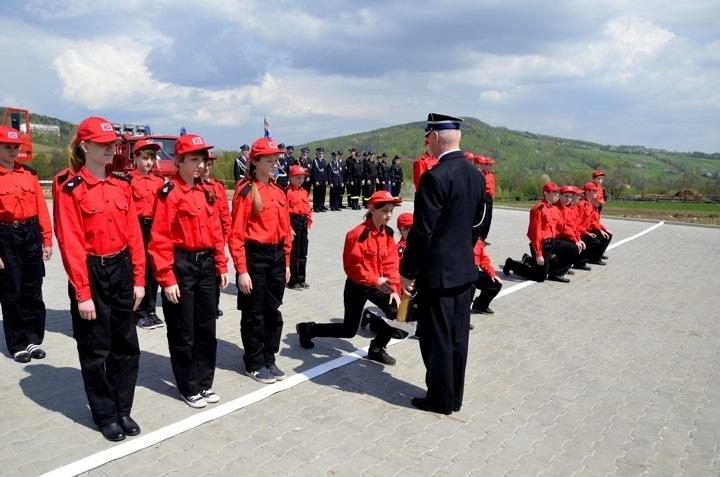 Ślubowanie MDP w Mąchocicach Kapitulnych - 5.05.2013r.