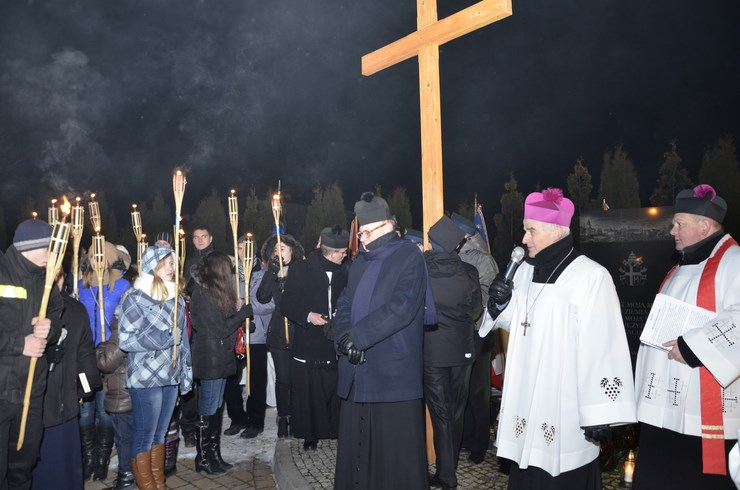 Papieska Droga Krzyżowa w Masłowie - 25.03.2013r.