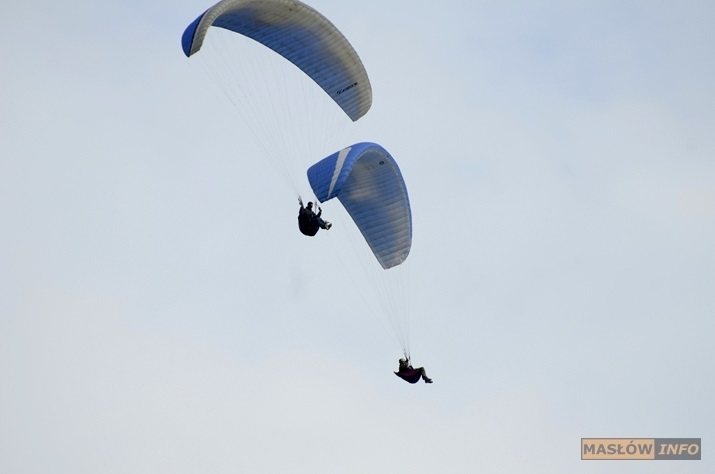Paralotnie nad Pasmem Masłowskim - 20.10.2013r.