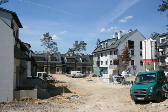 Rok 2013 - MAJ: budowa osiedla w Wiśniówce