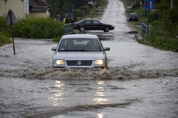 Rok 2013 - MAJ: ulewne deszcze