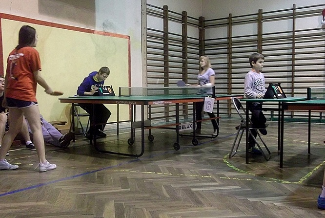 Tenisowe Mikołajki 2013 - 18.12.2013r. (fot. Ola Sikora)
