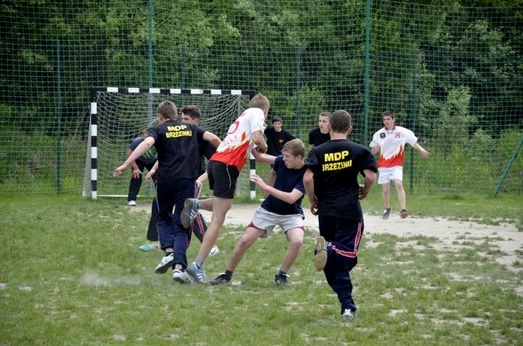Turniej Pięciu Strażnic - piłka nożna - 26.05.2013r.