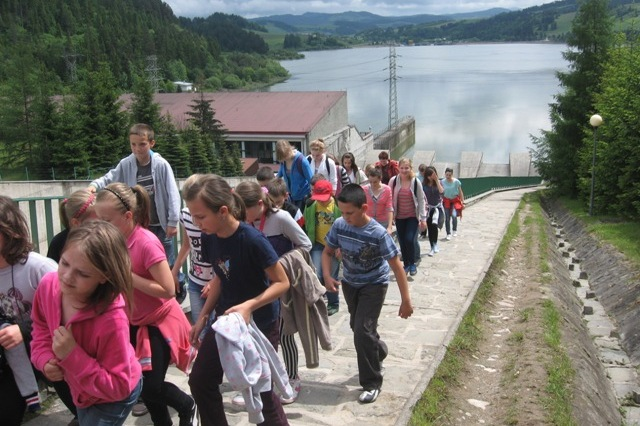 Uczniowie z Brzezinek na wycieczce w Tatrach i Pieninach - czerwiec 2013r.