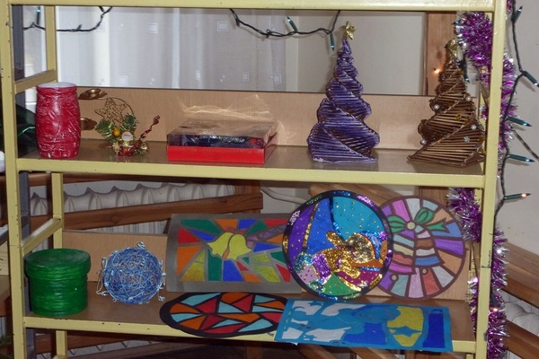 Świąteczny kiermasz w Scholasterii - grudzień 2013r.