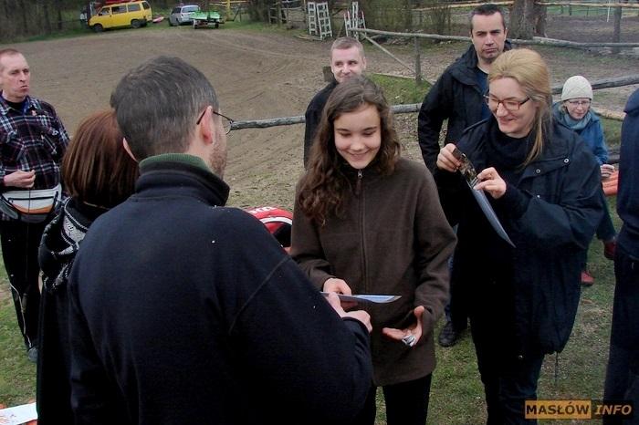 Kajakowy spływ Lubrzanką - 12.04.2014r.
